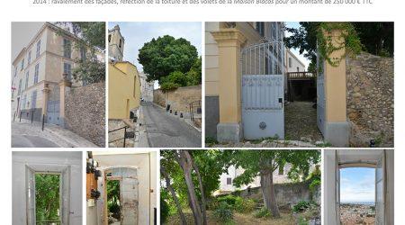 Extension de l'école du Vieux Bourg dans la maison Blacas - Valorisation du patrimoine communal du Haut-de-Cagnes